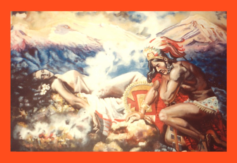 Our service for Aztec mural painting